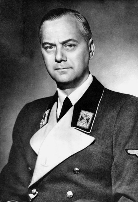 Альфред Розенбер - рейхсминистр оккупированных восточных территорий.