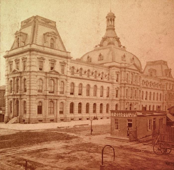 Суд Сент-Луиса. Фото 1877 года
