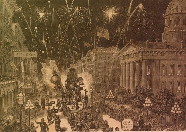 Первый парад карателей в 1878-м