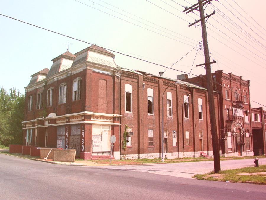 Тернер-холл - штаб Рабочей партии Сент-Луиса в 1877