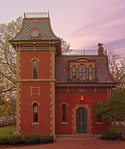 Старый полицейский участок Лафайетт-парка, современный вид