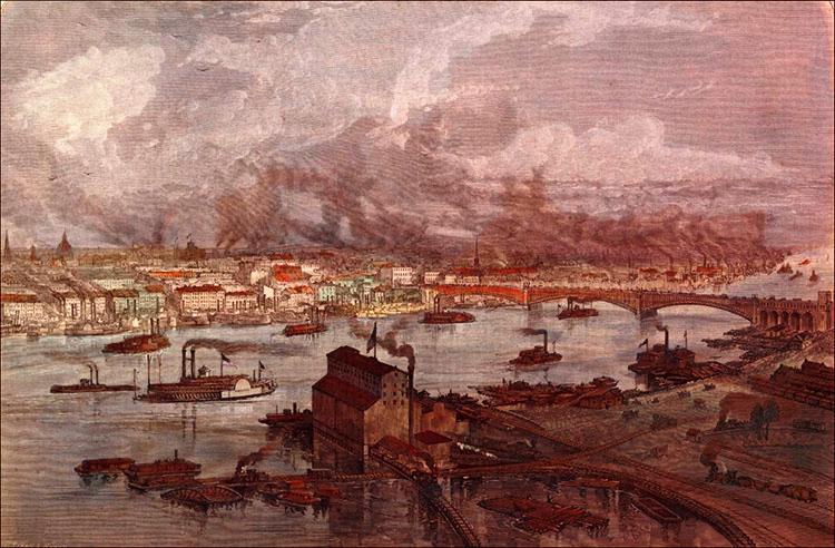 Сент-Луис в 1876-м году