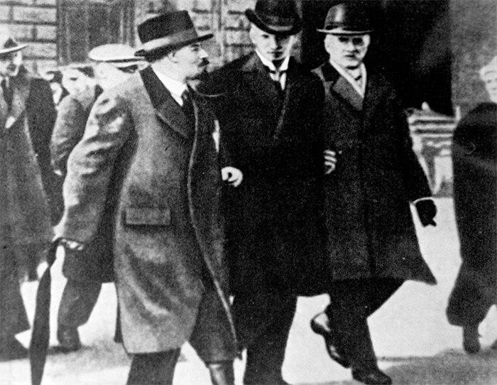 Ленин в Стокгольме